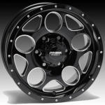 Wheel Range - Milled Series - ARMOUR - Gloss Black